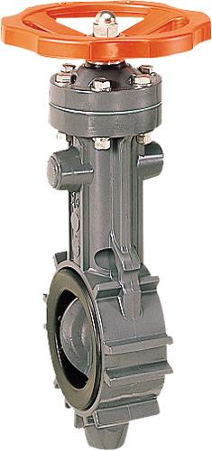その他製品 MSバルブ バタフライバルブ ハンドル式ウェハー形VKH VKHL-50プラント Mコード:87645 前澤化成工業