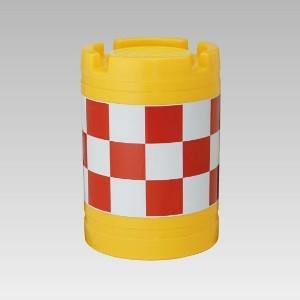丸型クッションドラム 385-23 1型 1個 [ミドリ安全] 商品コード 4068385230 [ユニット] 標識 (ユニットの建設標識) 安全用品・保安用品 コーン他【代引・後払い決済不可】