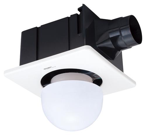 三菱 換気扇 VD-15ZSL12 ダクト用換気扇 天井埋込形(ACモーター搭載) 浴室・トイレ・洗面所用 プラスチックボディ (旧品番:VD-15ZSL10)
