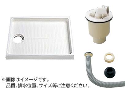 TOTO セット品番【PWSP80JH2W】 洗濯機パン[PWP800N2W]サイズ800+縦引トラップ[PJ2009NW]+ジャバラ排水ホース[PWH450]