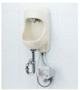 LIXIL・リクシル 手洗器セット [自動水栓アクエナジー] AWL-71UAM(S) [壁給水・床排水仕様] INAX