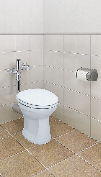 LIXIL・リクシル トイレ 一般洋風便器 便器のみ 【C-P13P】 床上排水 洗落とし式 INAX