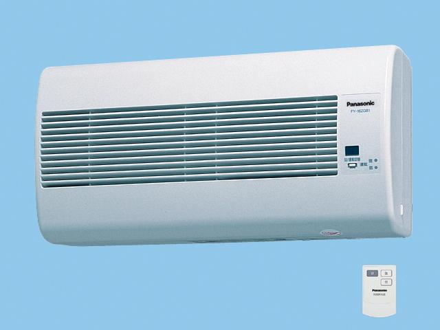 【FY-16ZGB1-W】 気調換気扇(壁掛け熱交)1パイプ方式 壁掛形・1パイプ式 リモコンスイッチ式 電気式シャッター 色=ホワイト 温暖地・準寒冷地用 換気扇 パナソニック