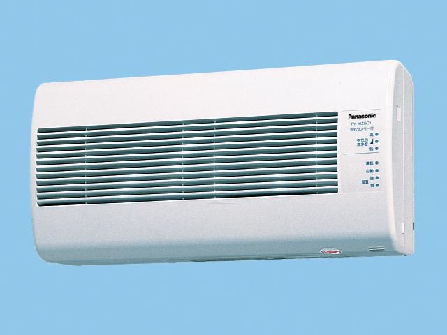 【FY-16ZGQ1-W】 気調換気扇(壁掛け熱交)1パイプ方式 壁掛形・1パイプ式 自動運転形(汚れセンサー) 電気式シャッター 色=ホワイト 温暖地・準寒冷地用 換気扇 パナソニック