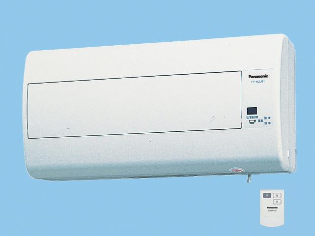【FY-16ZJB1-W】 気調換気扇(壁掛け熱交)1パイプ方式 壁掛形・1パイプ式 排湿形 リモコンスイッチ式 電気式シャッター 色=ホワイト 寒冷地仕様換気扇 パナソニック【せしゅるは全品送料無料】【セルフリノベーション】