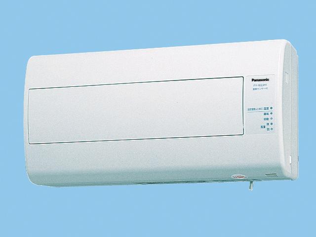 【FY-16ZJH1-W】 気調換気扇(壁掛け熱交)1パイプ方式 壁掛形・1パイプ式 排湿形・自動運転形(湿度センサー) 電気式シャッター 色=ホワイト 寒冷地仕様換気扇 パナソニック