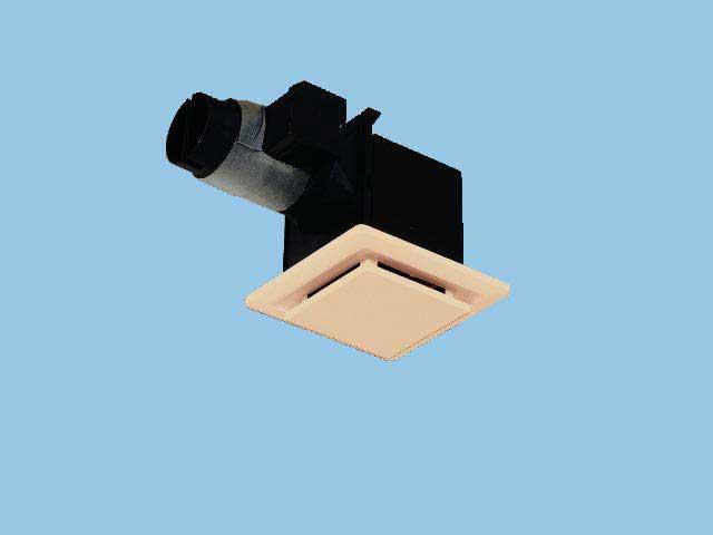 【FY-17CAS6-T】 天埋換気扇(給気タイプ)電気式シャッター 給気専用 〈電気式シャッター付〉 樹脂製本体 ルーバーセットタイプ(パネルタイプ:ライトブラウン) 埋込寸法:177mm角 適用パイプ径:φ100mm換気扇 パナソニック【せしゅるは全品送料無料】