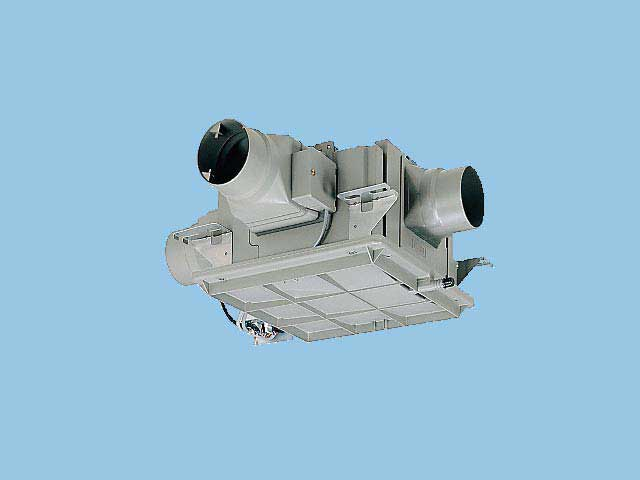 【FY-18DPC1WT】 中間用ダクトフアン3室用 2-3室用 残置運転機能付 電動気密シャッター2個付 樹脂製換気扇 パナソニック