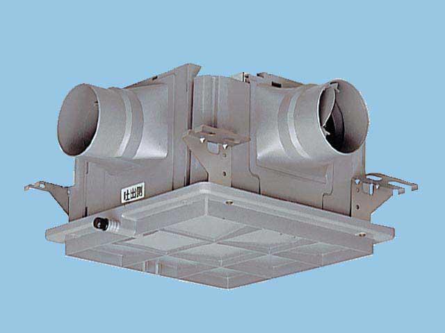 【FY-18DPKC1】 中間用ダクトフアン3室用 樹脂製 1?3室用 風圧式シャッター 樹脂製換気扇 パナソニック