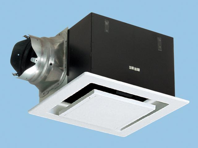 【FY-32FPK7】 天埋(鋼板)ルーバーセット・フラット 排気・強-弱 低騒音・大風量形 鋼板製本体 ルーバーセットタイプ(フラットパネル形) 埋込寸法:320mm角 適用パイプ径:150mm換気扇 パナソニック