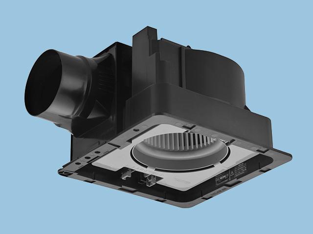 【FY-32JD7】天井埋込形 (樹脂)常時排気・ルーバー別売 排気・低騒音形 DCモーター搭載 樹脂製本体 ルーバー別売タイプ 埋込寸法:320mm角 適用パイプ径:150mm換気扇 パナソニック