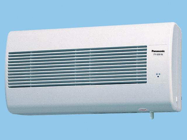 【FY-6W-W】Q-hiファン(熱交換形) 6畳用 熱交換タイプ 壁掛形 6畳用 色:ホワイト換気扇 パナソニック【Q-hiファン D】