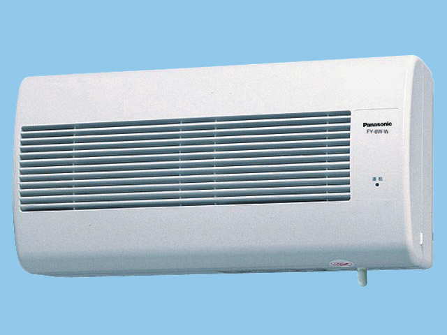 【FY-8W-W】Q-hiファン(熱交換形) 8畳用 熱交換タイプ 壁掛形 8畳用 色:ホワイト換気扇 パナソニック【Q-hiファン D】