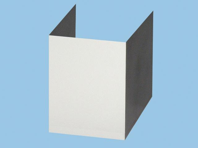 【FY-MHB50-S】 サイドフード用ダクトカバー 専用部材 ダクトカバー サイドフードFY-7HGP2タイプ用 鋼板製換気扇 パナソニック