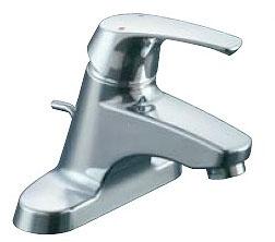 LIXIL・リクシル 水栓金具 湯側開度規制付水栓金具 【LF-B355SHK】 シングルレバー混合水栓 ポップアップ式 ゴム栓式 INAX