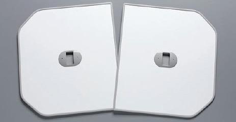 TOTO ふろふた 【PCF1600RR/PCF1600LR】 軽量把手付き組み合わせ式 (2枚)
