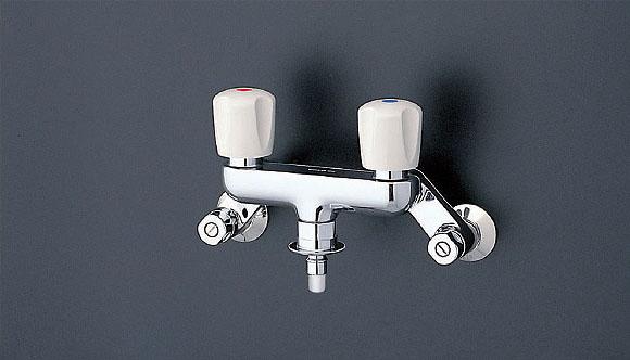 TOTO 水栓金具【TW20-1RZ】(寒冷地用) 緊急止水弁付洗濯機用水栓 「ピタットくん」 露出タイプ(壁給水タイプ)