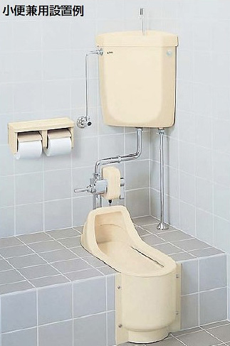 和風簡易水洗便器 トイレーナF 便器+タンク【TWC-200A】 給水管【TF-870EJF】 一般地・寒冷地(流動方式)共用 壁給水 手洗なし INAX イナックス LIXIL・リクシル トイレ