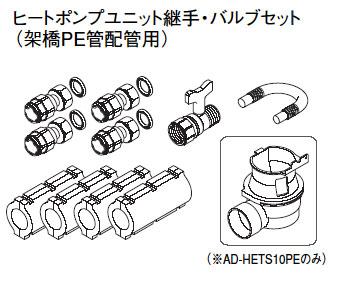 パナソニック エコキュート貯湯ユニット 配管部材ヒートポンプユニット循環配管セット【AD-HEHS10PN】