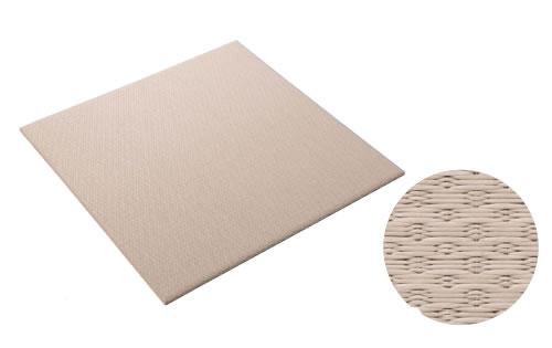 大建工業[DAIKEN] 床材 【YQ5414-2】<14灰桜色> 880×880mm 小波(さざなみ) 畳風床材 ここち和座 敷き込みタイプ 2枚入り [自分でかんたん施工、DIY] [新品]