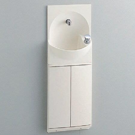 TOTO トイレ 手洗器付キャビネット 【YSC46SX#NW1】(ホワイト) ハンドル式水栓タイプ
