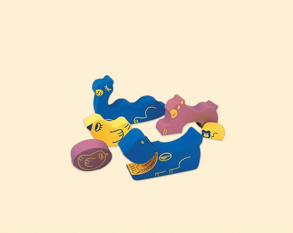 【YSA-01】 ソフトアニマルセット 幼児用遊び場 室内遊具 動物 コンビウィズ株式会社【YSA01】【メーカー直送のみ・代引き不可】