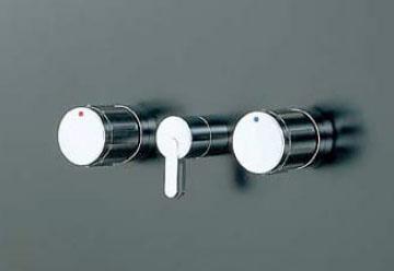 LIXIL・リクシル 水栓金具 埋込形 2ハンドル混合水栓 パブリック向け 【BF-280W-13】 ヴィラーゴシリーズ 呼び径13mm 切替弁付 上下向吐水 INAX