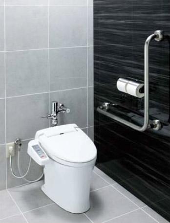 LIXIL・リクシル トイレ パブリック向け超節水床置大便器 便器のみ 【C-P15SU】 新築用 床排水 サイホン式 フラッシュバルブ式で6L洗浄を実現 INAX