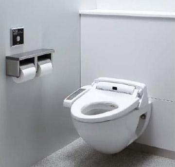 LIXIL・リクシル トイレ 壁掛大便器パック プロガード+ハイパーキラミック仕様 便器仕様:掃除口なし 使用水質:中水 排水継手:単独排水ソケット(VP/VU75) INAX