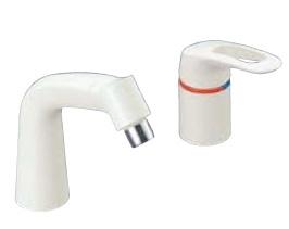 LIXIL・リクシル 水栓金具 湯側開度規制付水栓金具 【LF-344SHK(500)/N88】 マルチシングルレバー混合水栓 INAX