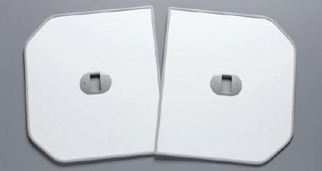 TOTO ふろふた 【PCF1620R】 軽量把手付き組み合わせ式 (2枚) 【セルフリノベーション】