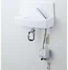 【YL-A74UA2D】 手洗器セット 床給水壁排水 自動水栓(100V) 同上水石けん入れ付タイプ アクアセラミック(受注後3日) INAX・LIXIL [新品]【せしゅるは全品送料無料】【セルフリノベーション】