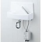 【YL-A74UM2D】 手洗器セット 床給水壁排水 自動水栓(アクエナジー) 同上水石けん入れ付タイプ アクアセラミック(受注後3日) INAX・LIXIL [新品]
