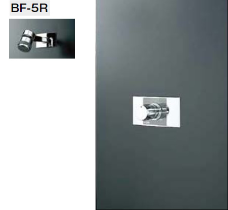 INAX・LIXIL シャワーセット セット品番【BF-116MD】(シャワーヘッド【BF-5R】/湯水混合栓【BF-22MP】/止水栓不要) 水栓金具 【沖縄・北海道・離島は送料別途必要です】