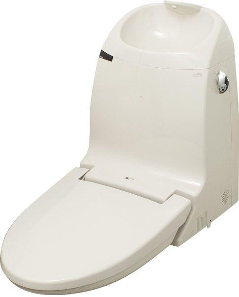 【DWT-MM85W】LIXIL・リクシルシャワートイレ一体型取替用機能部・MMタイプ手洗い付き・流動方式 INAX