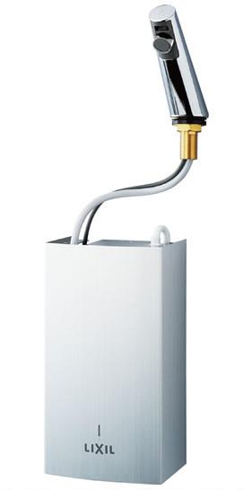 【手洗い用 自動水栓&温水器セット】 INAX 加温自動水栓 【EAAM-200EV2】 瞬間加温機能付水栓 排水栓あり 【小型電気温水器より節水&節電効果が高い!】 イナックス・LIXIL・リクシル