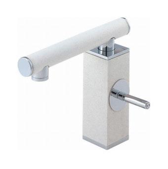 三栄水栓 シングルワンホール洗面混合栓【K4730JK-JW-13】【K4730JKJW13】[新品] [SANEI] 水栓