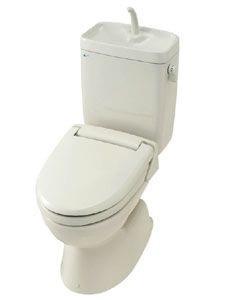 一般洋風便器リトイレ(リフォーム用)(寒冷地・流動方式)手洗付・便座なしセット・LIXIL・リクシル BC-250S+DT-3810HUW+NB【リクシル・LIXIL・イナックス・INAX】
