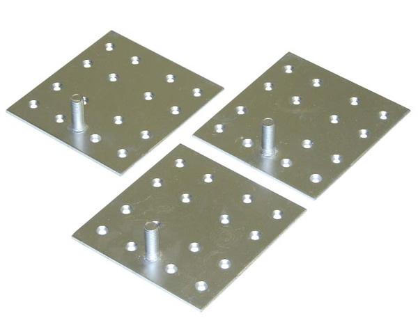 三菱 電気温水器【GZ-H12A】 別売部品 脚固定金具(木質床用・M12ネジ) 【沖縄・北海道・離島は送料別途必要です】