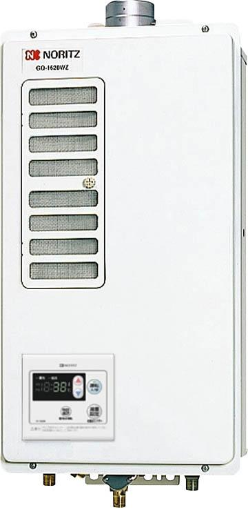 ノーリツ ガス給湯器 【GQ-1620WZD-F-2】 16~2.5号 [新品] 【沖縄・北海道・離島は送料別途必要です】