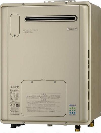 リンナイ ガス給湯暖房用熱源機 24号 【RVD-E2400AW2-1】【RVDE2400AW2-1】 ecoジョーズ フルオート 浴槽隣接設置タイプ 屋外据置型 給湯器