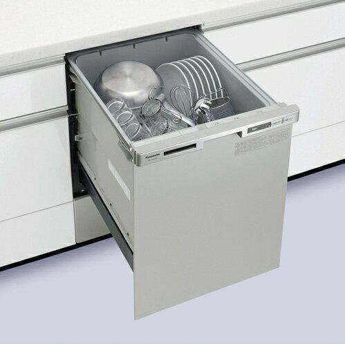 【延長保証5年間対象商品】パナソニック ビルトイン食器洗い乾燥機 (食洗機) 【NP-45MC6T】 幅45cm ディープタイプ 【セルフリノベーション】