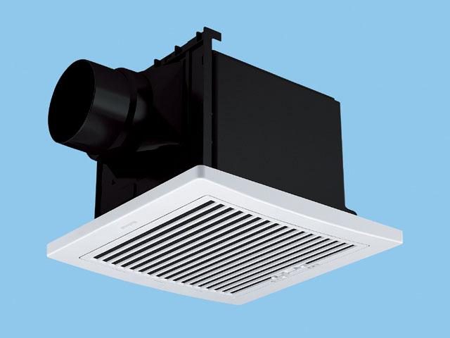 【FY-24CFT7V】天井埋込形 (フィルター付・温度センサー) 排気・強-弱 低騒音・自動運転形〈温度センサー〉 樹脂製本体 ルーバーセットタイプ(フィルタータイプ) 埋込寸法:240mm角 適用パイプ径:100mm換気扇 パナソニック