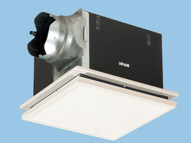 パナソニック 換気扇 ルーバー付【FY-32B7M/21】天井埋込形 排気・強-弱 低騒音・大風量形 鋼板製本体・右排気 別売ルーバー組合品番 埋込寸法:320mm角 適用パイプ径:150mm