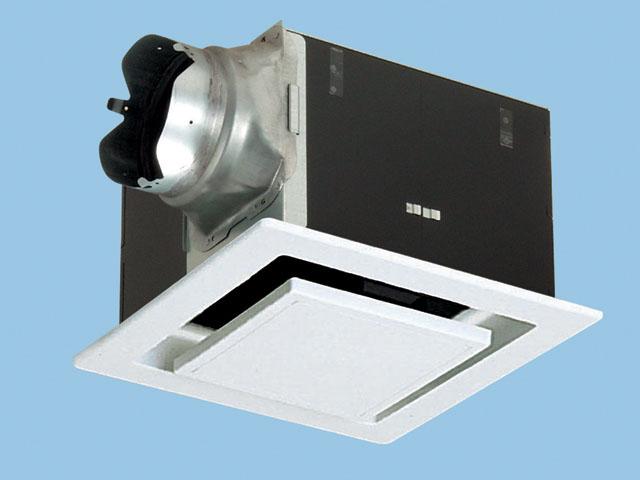 パナソニック 換気扇 ルーバー付【FY-32B7M/46】天井埋込形 排気・強-弱 低騒音・大風量形 鋼板製本体・右排気 別売ルーバー組合品番 埋込寸法:320mm角 適用パイプ径:150mm
