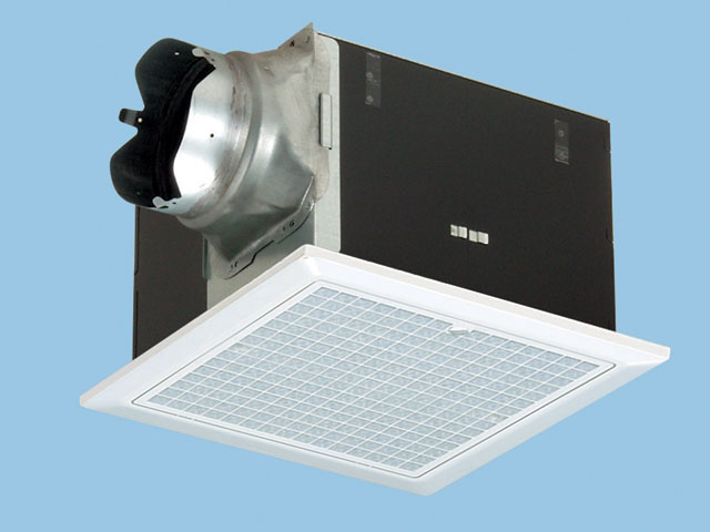 パナソニック 換気扇 ルーバー付【FY-32B7M/47】天井埋込形 排気・強-弱 低騒音・大風量形 鋼板製本体・右排気 別売ルーバー組合品番 埋込寸法:320mm角 適用パイプ径:150mm