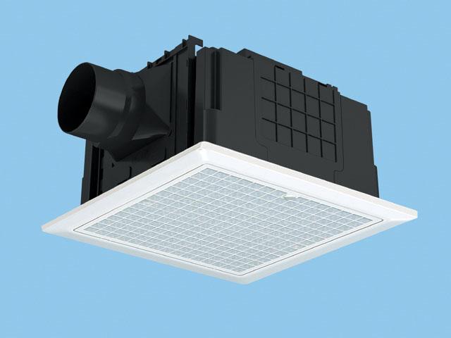 パナソニック 換気扇 ルーバー付【FY-32JSD7V/47】天井埋込形 排気 低騒音・小口径形 常時換気付 樹脂製 埋込寸法:320mm角 適用パイプ径:100mm