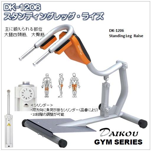 DK-1206 スタンディングレッグ・ライズGYMシリーズ
