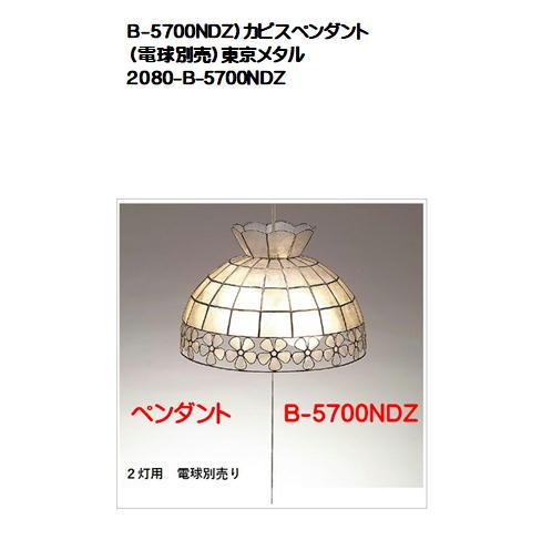B-5700NDZ)カピスペンダント(電球別売)東京メタル