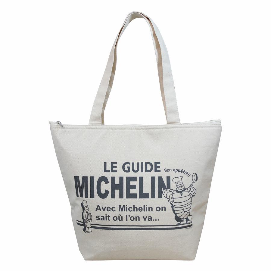 店舗 ミシュラン 送料込 保冷トートバッグです MICHELIN 保冷 シェフ ビバンダム トートバッグ エコバッグ